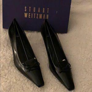 Stuart Weitzman Shoes  Flippery Kid Leather Heel